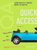 Quick Access: Reference for Writers with Access Code