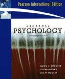 Abnormal Psychology (Pearson International Edition)