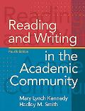 Reading and Writing in the Academic Community (4th Edition)
