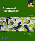 Abnormal Psychology. Thomas F. Oltmanns, Robert E. Emery