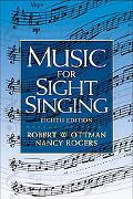Music for Sight Singing (8th Edition) (MyMusicLab Series)