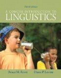 Concise Introduction to Linguistics, a Plus MySearchLab with EText