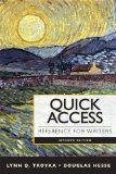 Quick Access : Reference for Writers