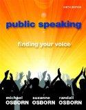 Public Speaking : Finding Your Voice Plus NEW MyCommunicationLab with EText