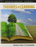 An Introduction to Theories of Learning: Ninth Edition
