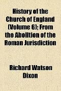History of the Church of England (v. 6)