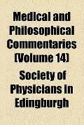 Medical and Philosophical Commentaries (1790)