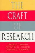 Craft of Research From Planning to Reporting