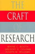 CRAFT OF RESEARCH (P)