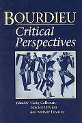Bourdieu Critical Perspectives
