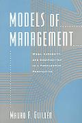 Models of Management Work, Authority, and Organization in a Comparative Perspective