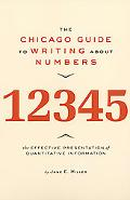 Chicago Guide to Writing About Numbers
