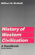 History of Western Civilization A Handbook