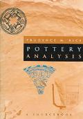 Pottery Analysis A Sourcebook