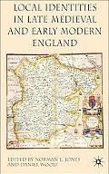 Local Identities in Late Medieval and Early Modern England