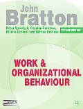 Work and Organizational Behaviour: Understanding the Workplace