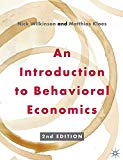Introduction to Behavioral Economics