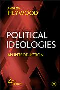 Political Ideologies An Introduction