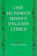 One Hundred Middle English Lyrics