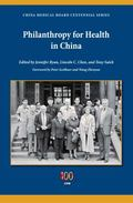 Philanthropy for Health in China