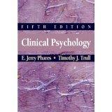 Clinical psychology: Concepts, methods & profession