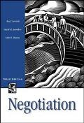 Negotiation Readings, Cases and Exercises