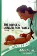 The Nurse's Longed-For Family (Medical Romance Large Print)