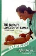 The Nurse's Longed-For Family (Medical Romance Large Print)
