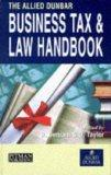 The Allied Dunbar Business Tax and Law Handbook