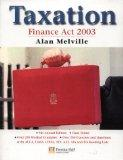 Taxation: Finance Act 2003