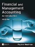 Financial and Management Accounting An Introduction
