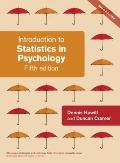Introduction to Statistics in Psychology