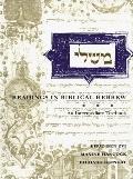 Readings in Biblical Hebrew An Intermediate Textbook