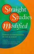 Straight Studies Modified Lesbian Interventions in the Academy