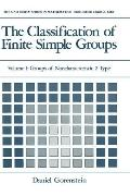 The Classification of Finite Simple Groups: Groups of Noncharacteristic 2 Type