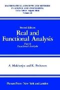 Real and Functional Analysis, Part B Functional Analysis