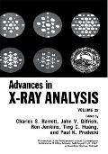 Advances in X-Ray Analysis