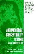 Antimicrobial Susceptibility Testing Critical Issues for the 90s