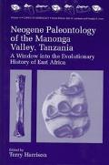 Neogene Paleontology of the Manonga Valley, Tanzania A Window into the Evolutionary History ...