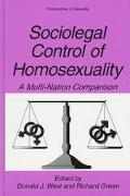 Sociolegal Control of Homosexuality A Multi-Nation Comparison
