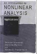 Introduction to Nonlinear Analysis Applications & Theory