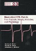 Biomedical EPR / Edited by Sandra S. Eaton, Gareth R. Eaton, Lawrence J. Berliner