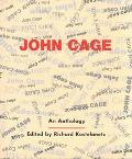 John Cage: An Anthology - Richard Kostelanetz - Paperback