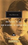 David Golder, The Ball, Snow in Autumn, The Courilof Affair