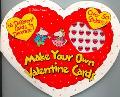 Make Your Own Valentine Cards 16 Cards and 50 Stickers