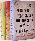 The Millennium Trilogy: The Girl with the Dragon Tattoo, The Girl Who Played with Fire, The Girl Who Kicked the Hornet's Nest