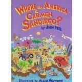 Where in America Is Carmen Sandiego (Golden Storybooks)