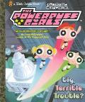 Big, Terrible Trouble? (Powerpuff Girls Golden Books Series)
