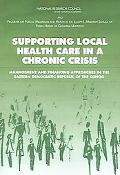 Supporting Local Health Care in a Chronic Crisis Management And Financing Approaches in the ...