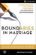 Boundaries in Marriage Participant's Guide